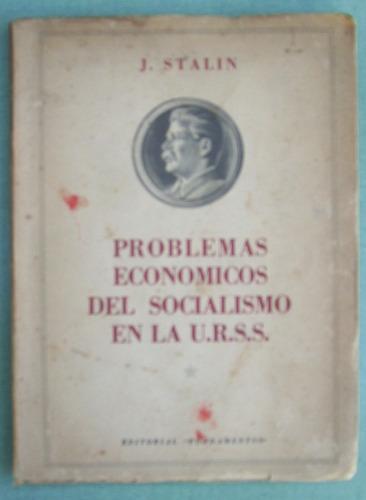 stalin, j., problemas económico del socialismo en la urss