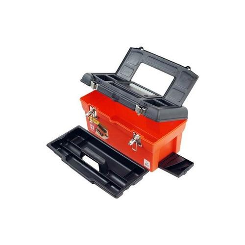 stalwart 16 utility tool box con 7 compartimentos y bandeja