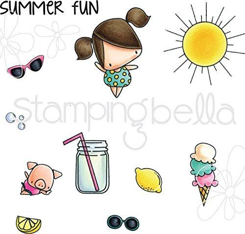stamping bella eb514 cling ice cream and lemonade