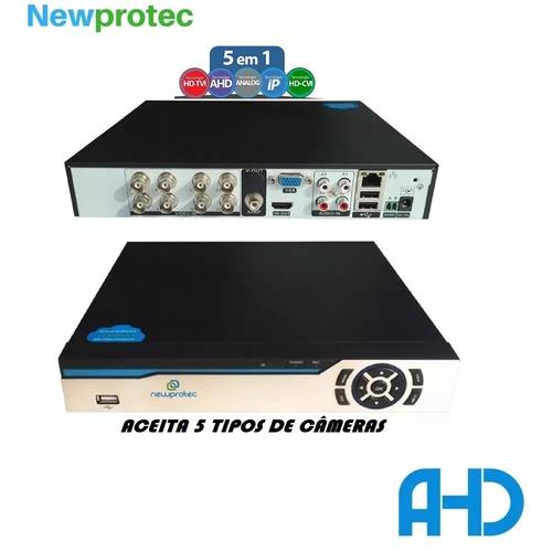 stand alone 8 canais dvr h.264 realtime 240fp acesso celular