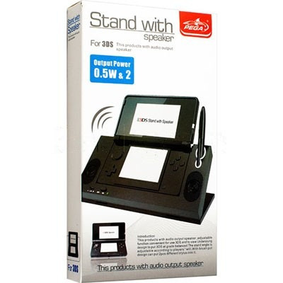 stand base con speaker 3ds