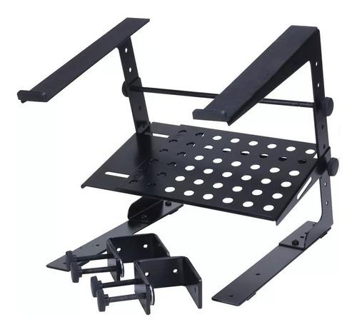 stand / base laptop y controlador dj c/ arnes