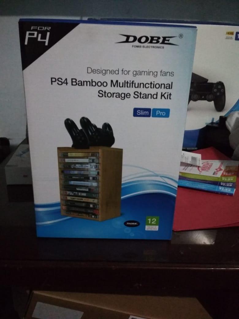 Stand De Bamb Para Ps4 Us 3500 En Mercado Libre Multifunctional Storage Kit Cargando Zoom