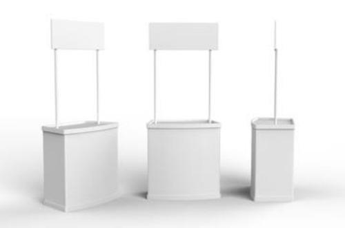 stand, demostand, módulo portátil