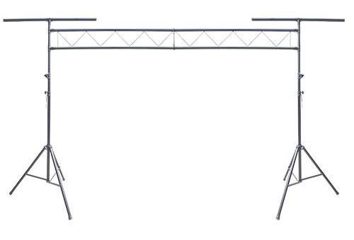 stand metálico para equipo de iluminación tipo porteria
