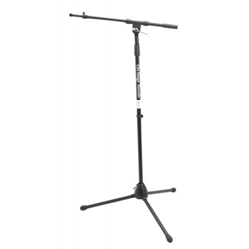 stand para micrófono con boom on-stage stands ms7701tb