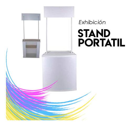 stand portátil - stand de degustación - mini stand