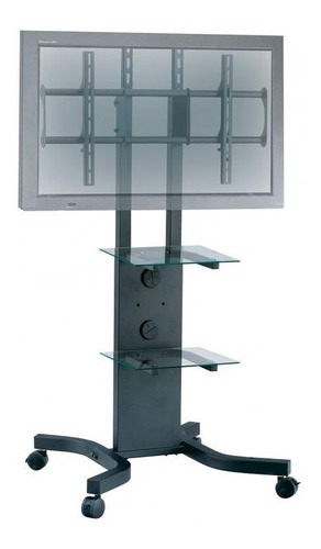 stand / rack pie c/ ruedas 40-65  vesa 600x400. todovision