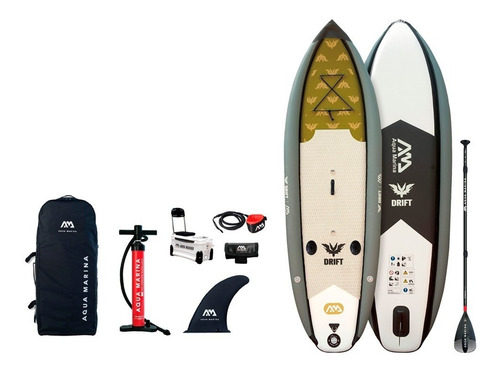 stand up paddle / drift inflable / pesca / 10 pies + cooler