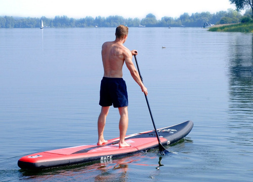 stand up paddle / sup inflable / race aqua marina 14 pies
