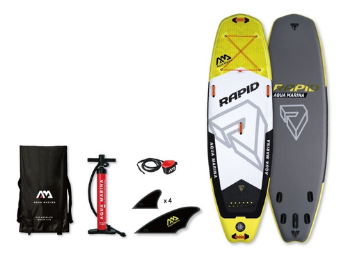 stand up paddle / sup inflable / rapid aqua marina 10 pies