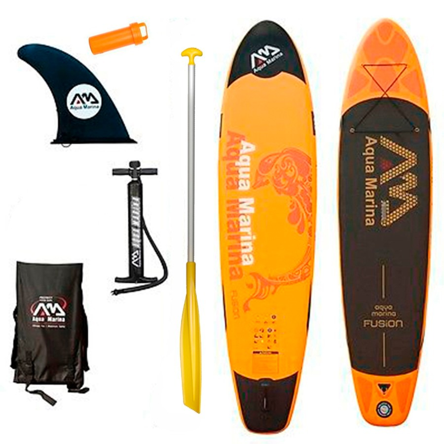 4a54d2395697cb Stand Up Paddle Sup Tabla Inflable Aqua Marina Fusion 10 - $ 18.799 ...