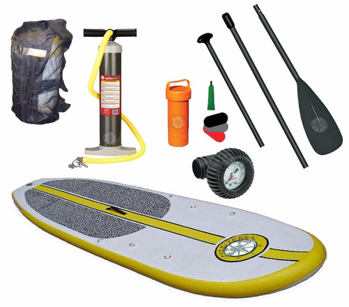 stand up paddle surf tabla sup inflable+accesorios palermo