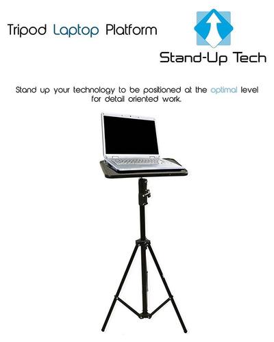 stand-up tech universal tripod laptop platafo + envio gratis