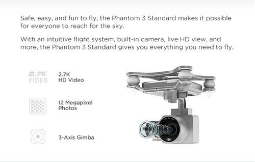 standard drone dji phantom