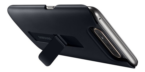 standing cover samsung galaxy a80 black ef-pa805