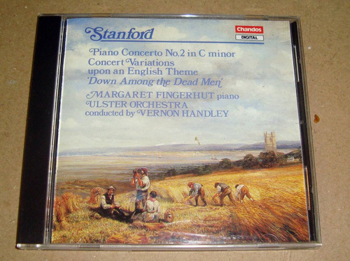 stanford piano concerto nº2 fingerhut ulster orch handley cd