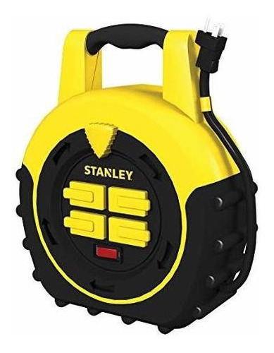 stanley 33959 carrete para cables shopmax power hub de 20 pi