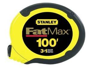 stanley 34-130 regla cinta 100-foot fatmax largo