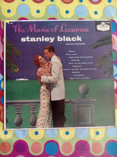 stanley black & his orchestra lp usa  the music of lecuona