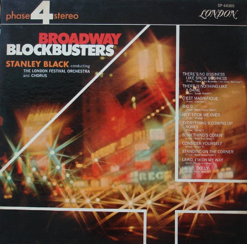 stanley black orquestra  broadway blockbusters - lp london