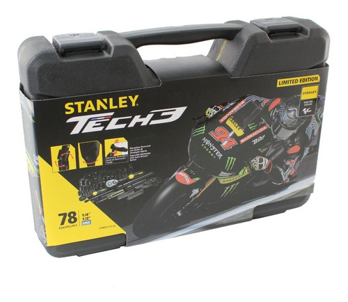stanley juego tubos tech 3 stanley edición limitada 78 pzas