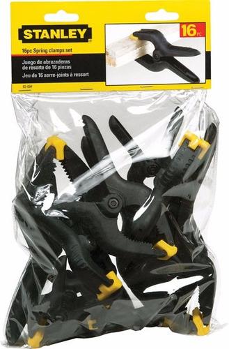 stanley spring clamps pinsas prensa carpintero abrasaderas
