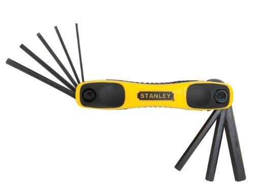 stanley tools stht juego de llaves hexagonales plegables de