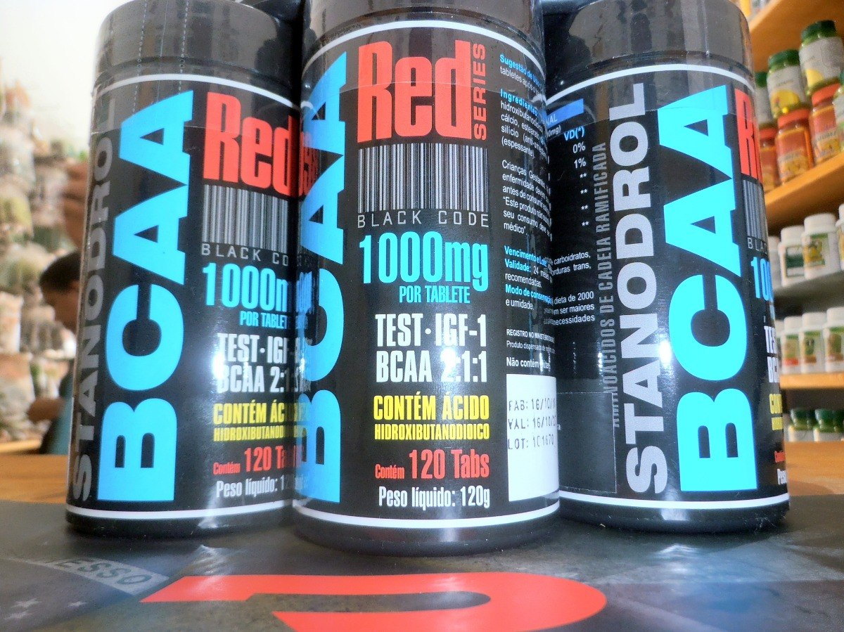 32c28a595 Stanodrol Bcaa Red Series - 120 Tabletes   1000mg - R  64