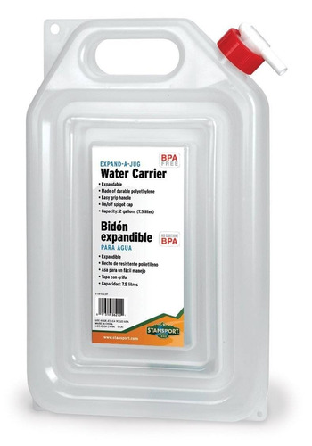 stansport outdoor 291 - cargador de agua de 2 + envio gratis