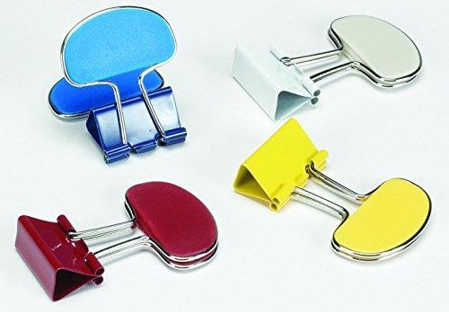 staples médio vincular flagsâ inch binder clips 1 1 4 in r 199