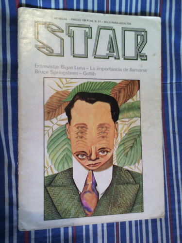 star #51 revista española de contracultura icónica 70's 80's