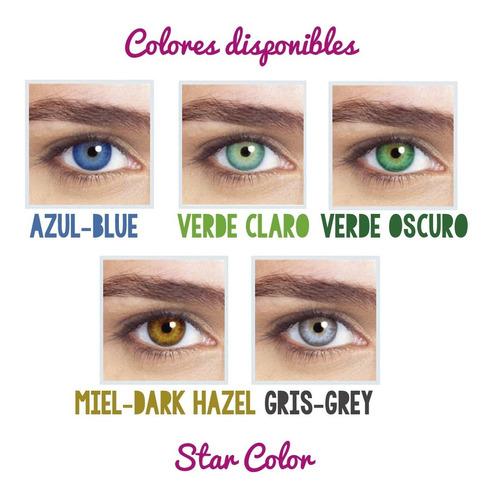 star colors ii lentes de contacto soflens cosmeticas optica