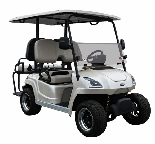 star ev sirius 2+2 white diamond pearl carrito de golf