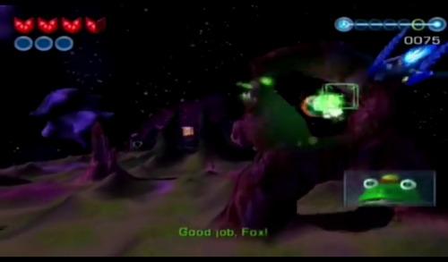 star fox  compatible con game cubo y wii