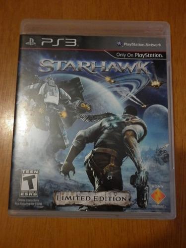 star hawk - para play station 3