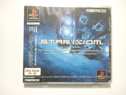 star ixiom (2000) playstation 1 ps1 psone *nuevo y sellado*
