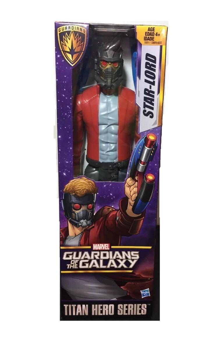 Hasbro c0311 Marvel Guardians of the Galaxy Star-Lord figura de acción Titan Hero nuevo