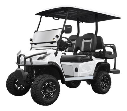 star sirius 2+2 lifted white diamond pearl carrito de golf