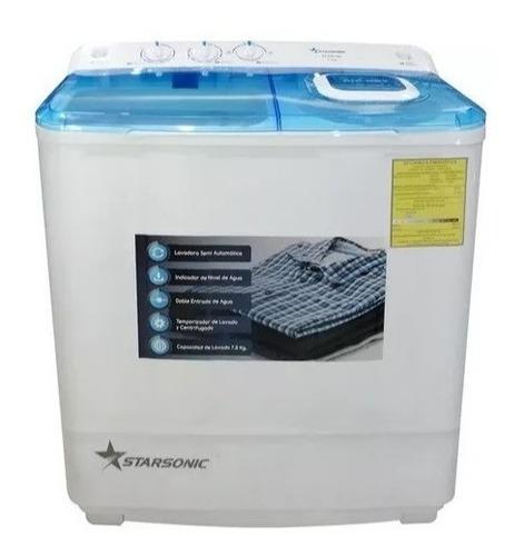 star sonic lavadora semi-automática 7.5kg 15 libras