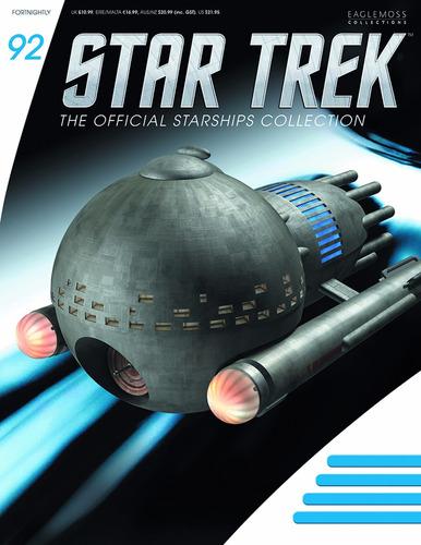 star trek 92 medusan ship - eaglemoss - bonellihq l18
