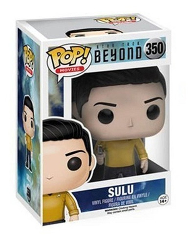star trek beyond - sulu - funko pop! - robot negro
