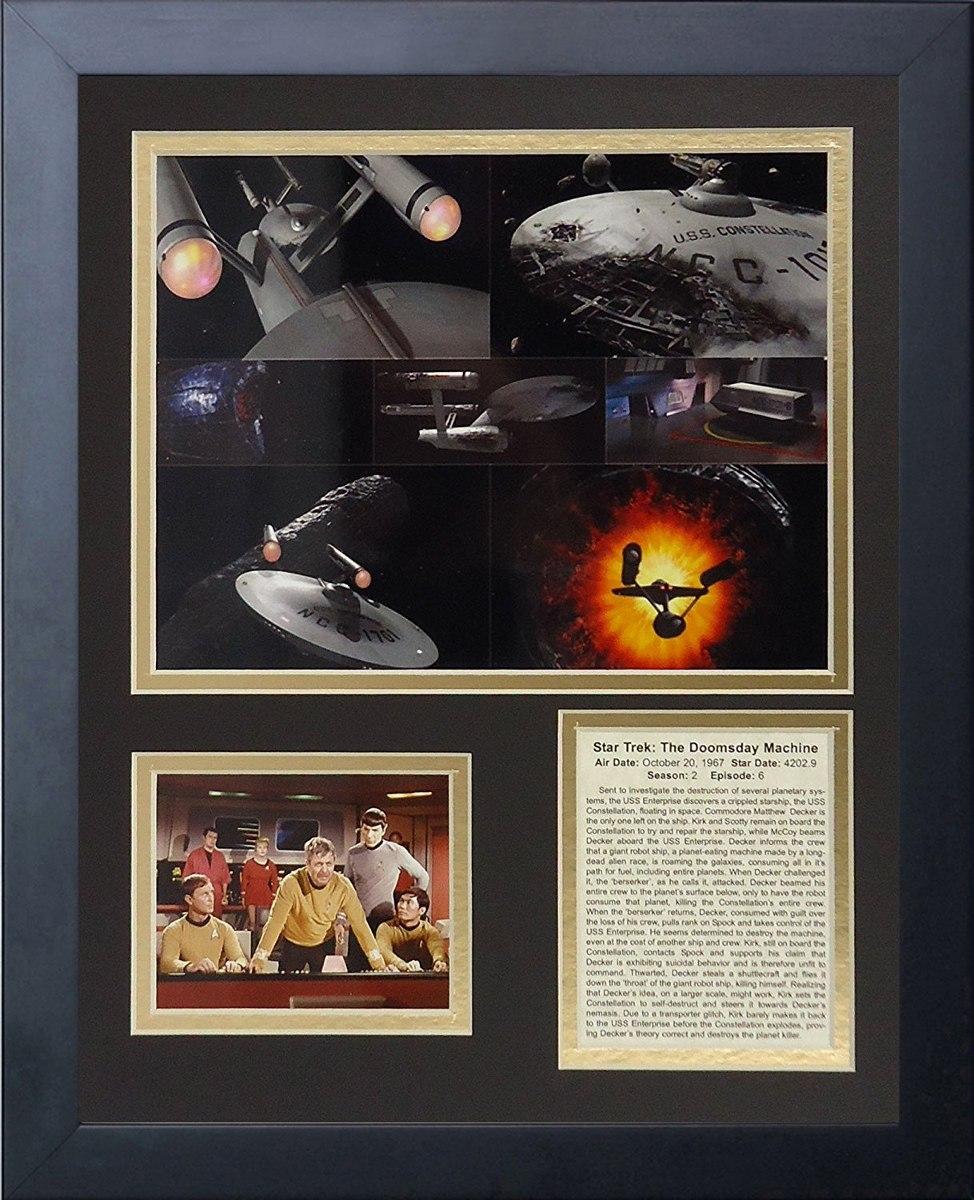 Star Trek Collage De Fotos Con Marco De 11 X 14 De Lege ...