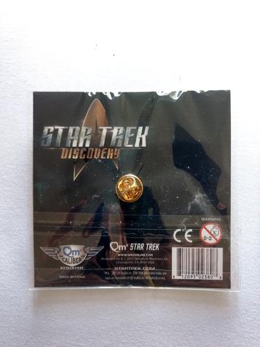 star trek discovery badge de lapela