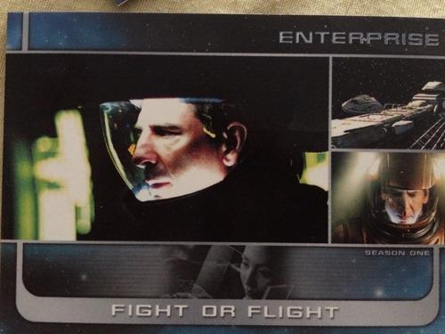 star trek enterprise 137 tarjetas coleccion