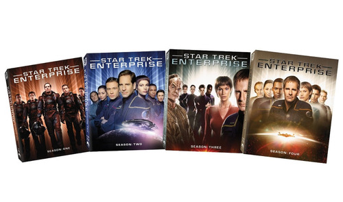 star trek: enterprise - the complete series [blu-ray]