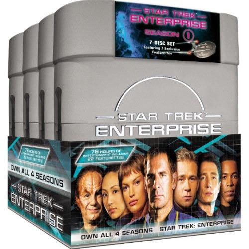 star trek enterprise todas las temporadas en dvd