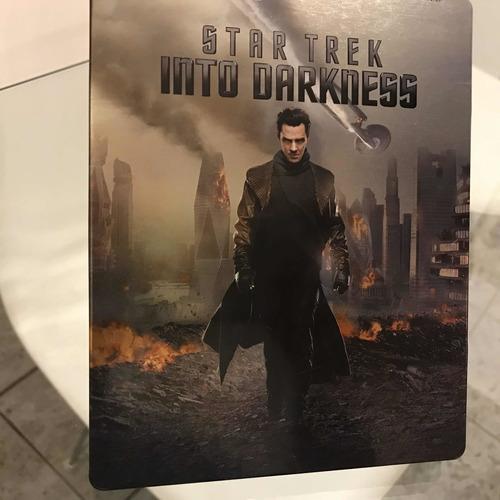 star trek into darkness blu-ray original steelbook recoleta
