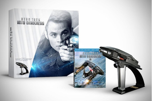 star trek into darkness limited edition gift set 3d + br dvd