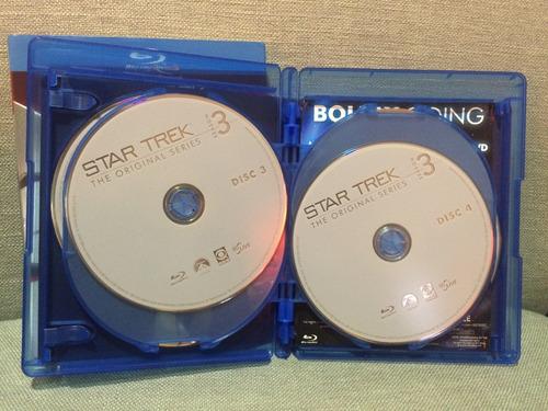 star trek jornada nas estrelas - blu-ray 3ª temporada import